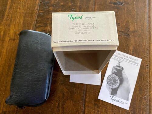 Tycos Vintage NIB Hand Aneroid Sphygmomanometer