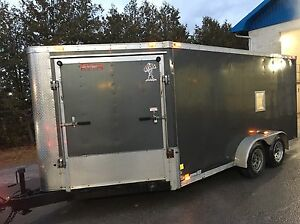2012 Atlas Cargo Trailer 7x17 V-nose.  Kawartha Lakes Peterborough Area image 3
