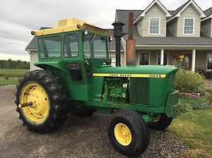 John Deere 6030 collects tractor