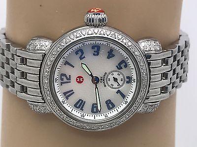 Michele Women's Watch CSX Diamond Bezel Stainless Steel MW03A01 (N776)