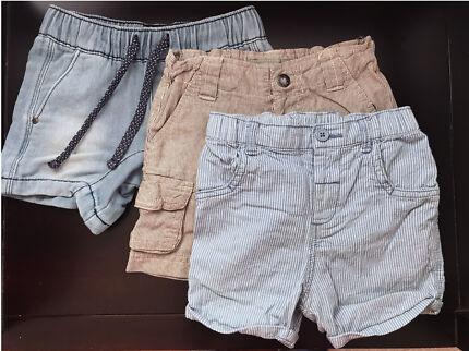 Boys shorts 12m size 1