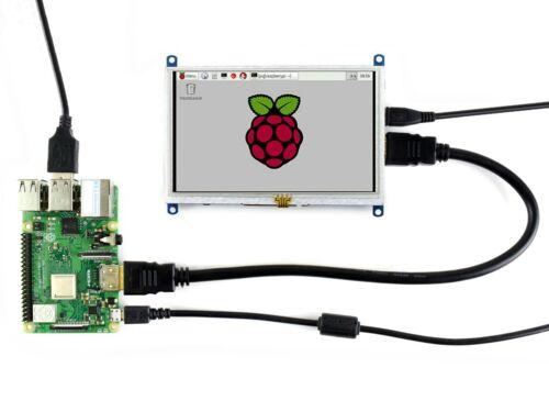 800×480 5inch HDMI LCD B Resistive Touch Screen for Raspberry Pi 4B/3B+/3B etc