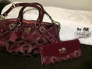 Authentic COACH Purse Set