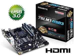 GIGABYTE AUFRÜST BUNDLE AMD FX-4300 4x max 4,0GHz DUAL USB3 HDMI DVI IDE 4x RAM