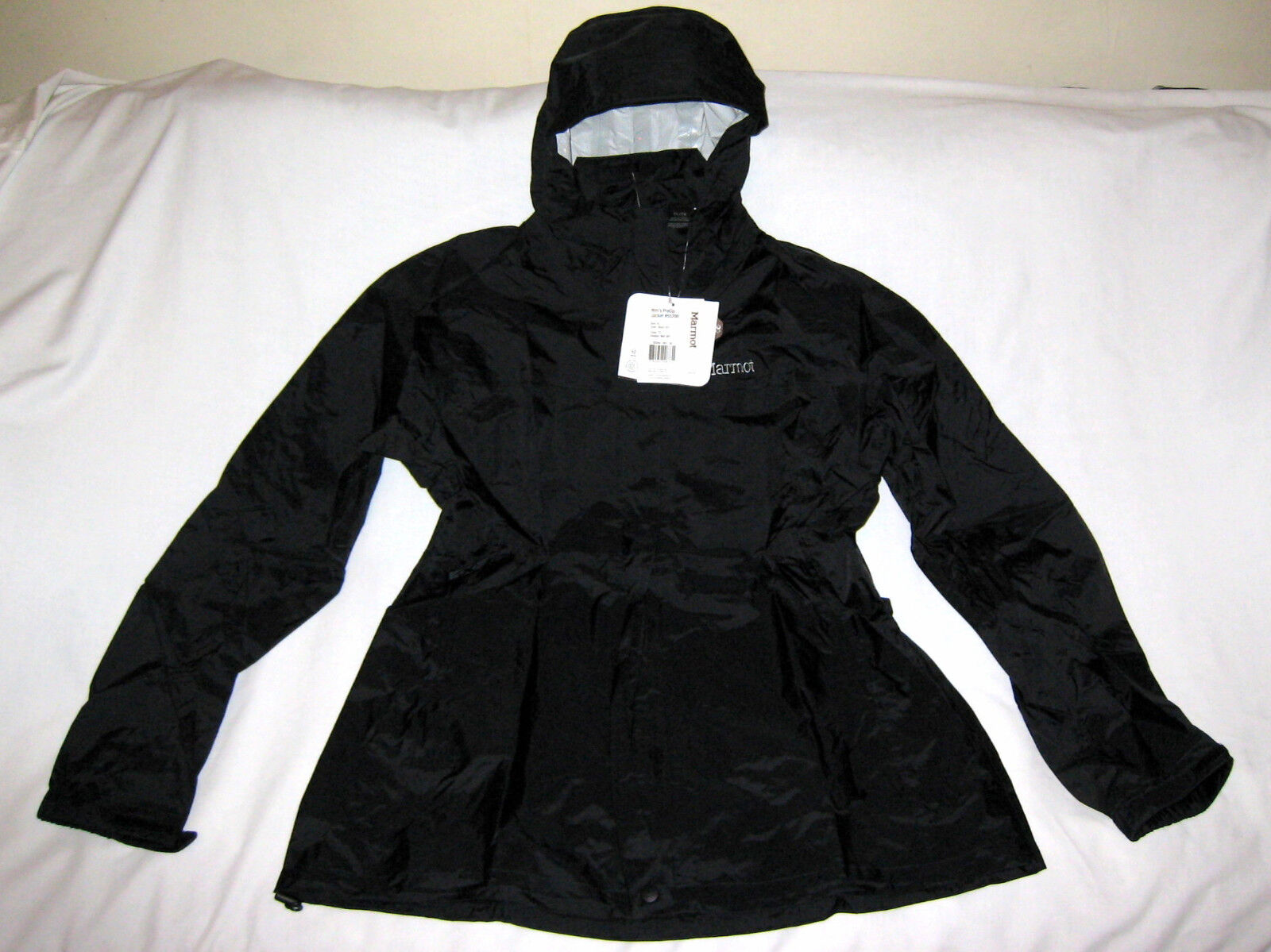 Marmot Women's Precip Jacket, Black, X-Large