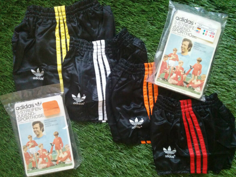 NEW Adidas KIDS shorts VINTAGE 70