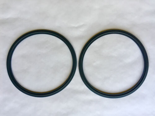 "6"" Tri Clamp Sanitary Viton Gasket Closed Loop Extractor 2 Pack"