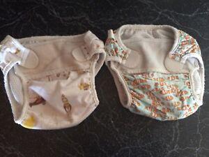 Reuseable swim diapers