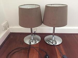 Bedside table lamps Willagee Melville Area Preview