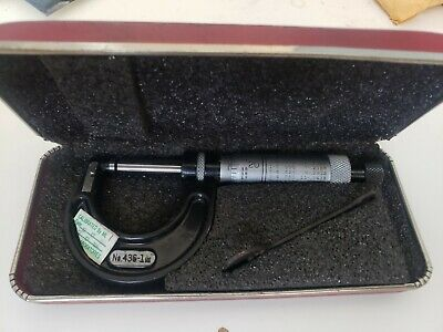 Starrett Precision Outside Micrometer No. 436 1 Range .