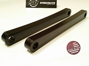 [SR] Honda Shadow VT 750 Billet Hard Tail Lowering Struts Solid Strut Kit BLACK