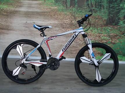 Men's Euro Bike GTR mountain bikes $299  rrp $599 Xmas special