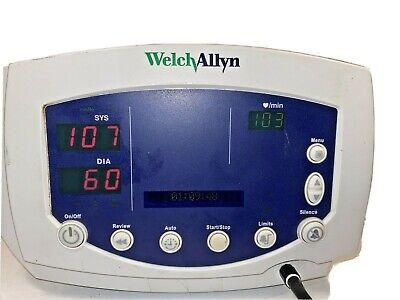 Welch Allyn Series 300 Vital Signs Monitor 53ooo Works Perfectly Flexiport Cuff