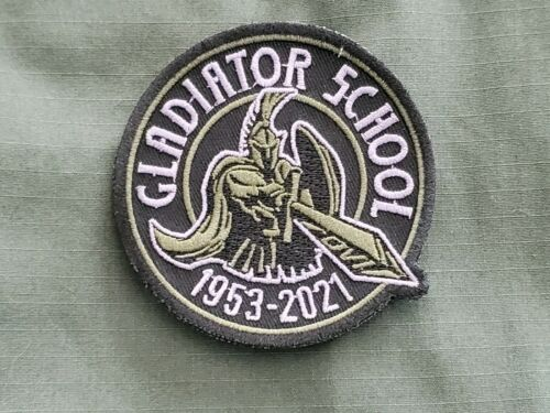 DVI Gladiator School Embroidered Patch