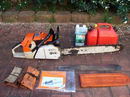 MUST GO!!! STIHL 084AV Chainsaw 121.6cc St Andrews Campbelltown Area Preview