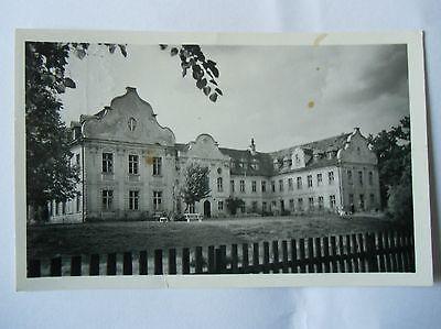 Ansichtskarte Fürstenberg Havel Stadtkrankenhaus