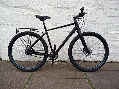 Cube Hyde Pro 2020 Hybrid Bike Black 54cm