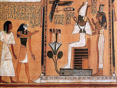 8 x 6 Ceramic Mural Egyptian Art Decor Tile #98