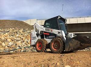 Bobcat excavator and truck hire Macgregor Belconnen Area Preview