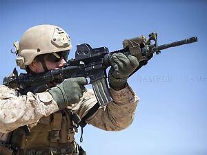 WAR MILITARY ARMY SOLDIER GUN RIFLE MARINE AIM BULLET POSTER PRINT BB3376A