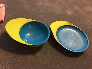 Boon catch plate and bowl