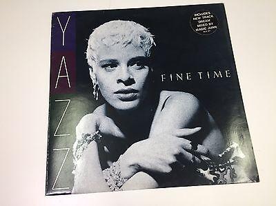 "Yazz - Fine Time / Dream - 12"" Vinyl Single - 1989 - VG/EX+"