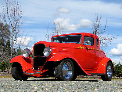 1932 Ford Other 5 Window Coupe 1932 Ford 5 Window Coupe       302 C4       A C       Full Leather       Loaded