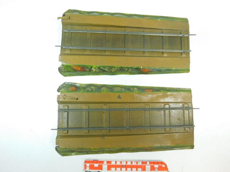AT484-1 #2x Märklin Gauge 1 Blech-Rampe For Bridge / Truss