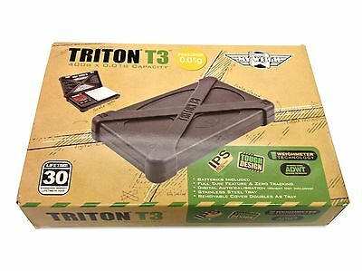 MyWeigh Triton T3 400g x 0.01g Capacity Precision Digital Scale! Tough Design!