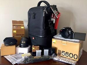 (Private Sale) AS NEW: Nikon D5600 DSLR & Premium Nikkor 16-80mm