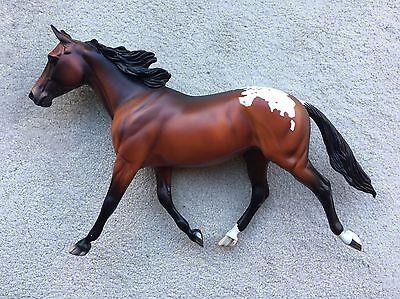 Rare Peter Stone Breyer Horse Matte Bay Appaloosa Palouse Equilocity SR