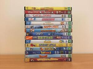 DVD's (Assorted G+ rated) Castle Hill Townsville City Preview