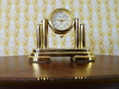A quality quartz carriage clock made by the Dimpax company of Germany