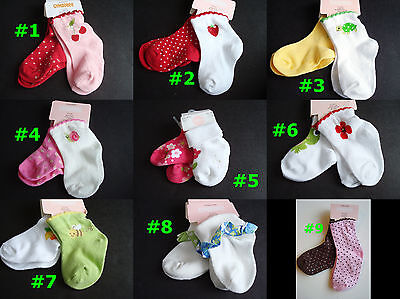 - NWT Gymboree Novelty SOCKS New Baby Girl ~2 PAIR SETS~ CHOOSE STYLE 0-3-6-12-18
