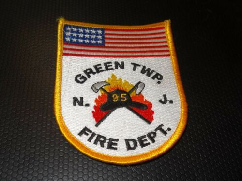 GREEN TWP FIRE DEPARTMENT PATCH