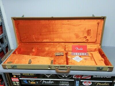 2005 Fender TWEED American Vintage '57 Strat / '52 Tele Reissue CASE USA Guitar