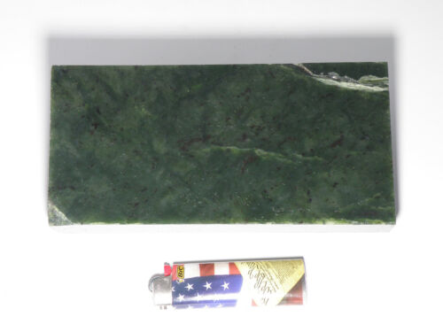 Green Sugar Nephrite Jade Rough (3.19 lbs.)