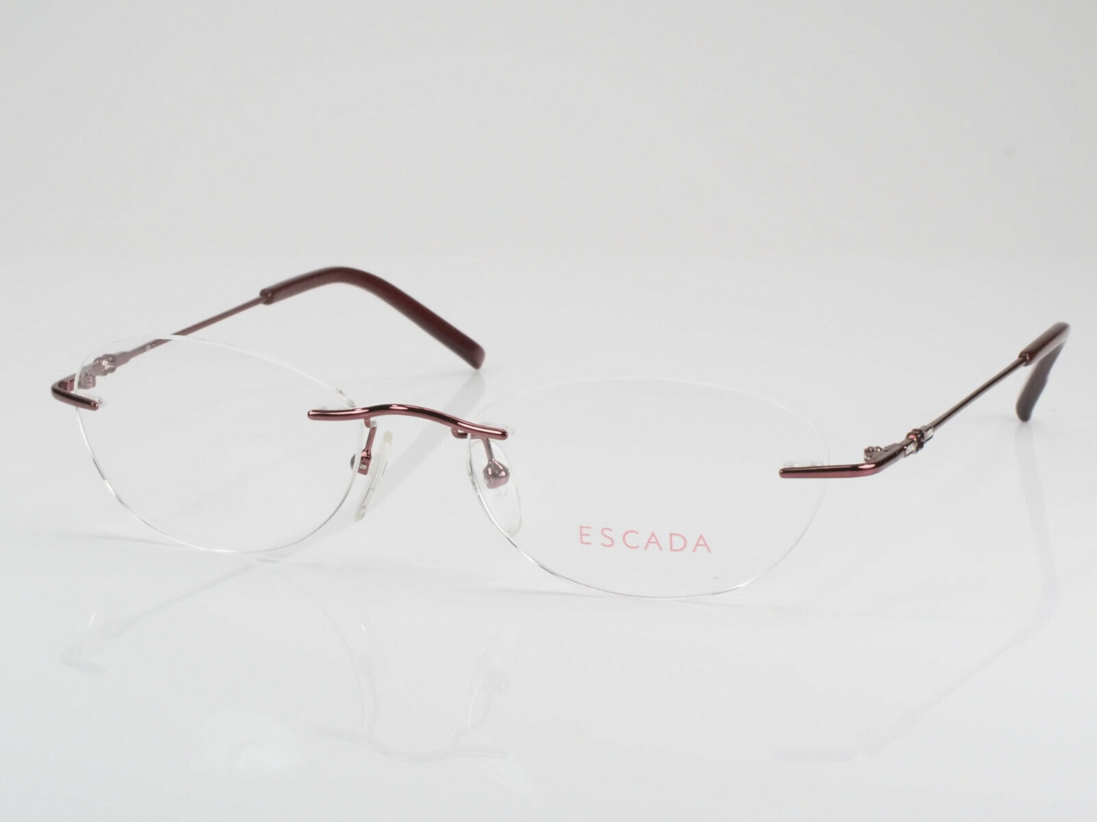 ESCADA Brille Brillenfassung VES 526S 52-17 135 rot metallic NEU; K76 11