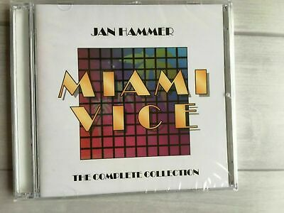 Miami Vice: The Complete Collection by Jan Hammer (CD, Jul-2002, 2 Discs, -
