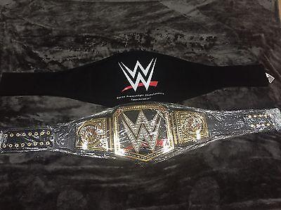 WWE WORLD HEAVYWEIGHT CHAMPIONSHIP WRESTLING BELT WWF TITLE BIG LOGO 2014 - Wwe World Heavyweight Championship