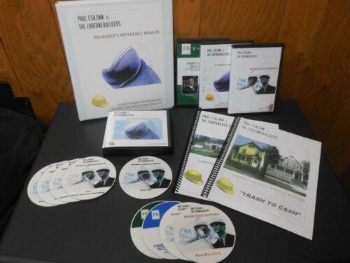 Than Merrill Rehabbers Fortunebuilders 3 Manuals & 9 CD
