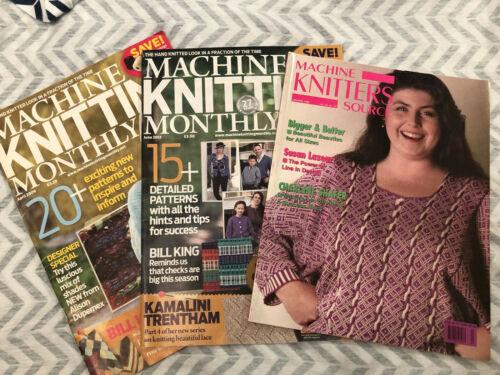 Machine Knitting Magazines