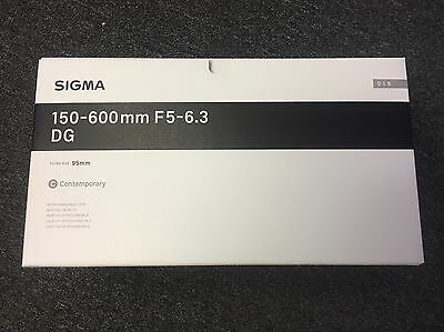 Sigma 150-600mm f/5-6.3 DG OS HSM Contemporary Lens for Canon EF  *BRAND NEW*