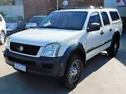2003 Holden Rodeo DUAL CAB 4X4 TURBO DIESEL AUTO Victoria Park Victoria Park Area Preview