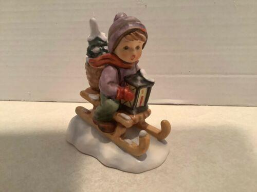 Goebel (W Germany) figurine, Ride Into Christmas