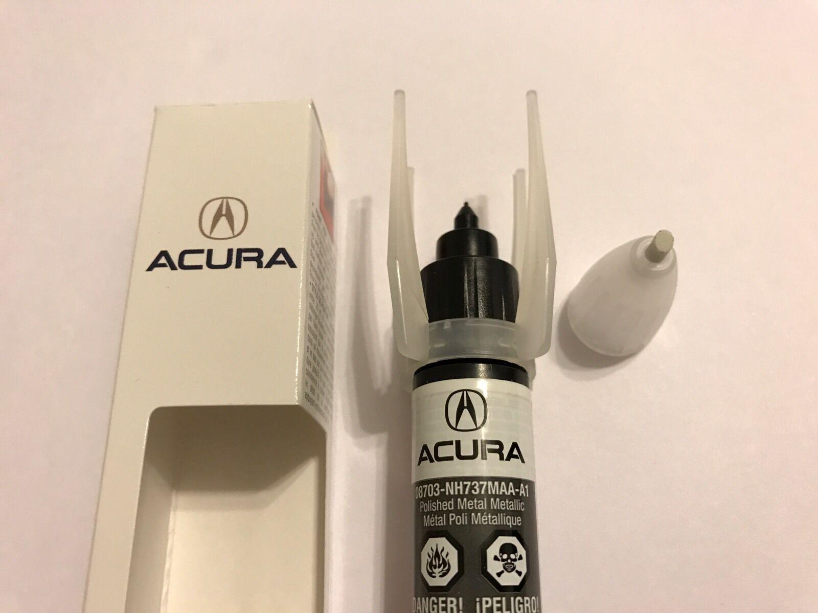GENUINE OEM HONDA Acura Touch Up Paint NHM Polished Metal - Acura touch up paint