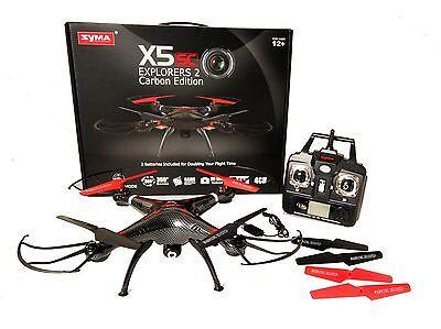 Syma X5SC EXPLORER 2.4G 4CH 6-Axis Gyro RC Headless Quadcopter HD Camera BLACK