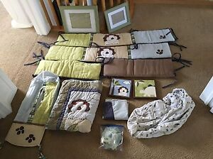Complete new born bedroom set - perfect condition