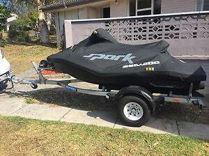 2015 Sea-Doo spark jet ski & trailer $8000 Guildford Parramatta Area Preview