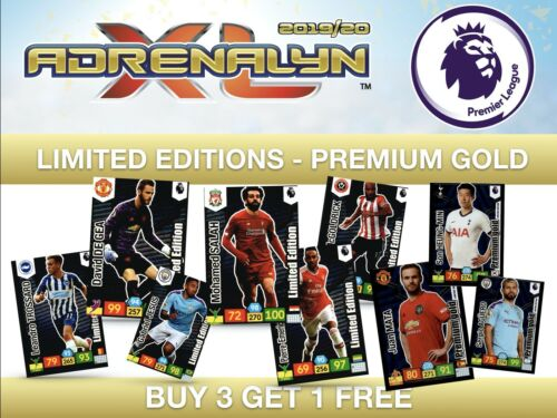 Panini Adrenalyn XL Liga Premier 2019//20 Edición Limitada trossard Brighton